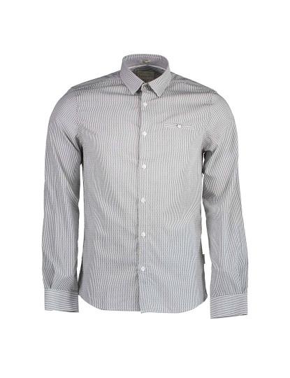 Camisa M. Comprida Guess Jeans Homem Cinza