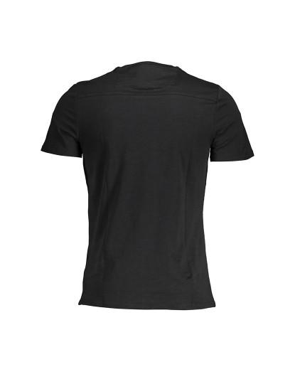 T-shirt M. Curta Guess Jeans Homem Preto