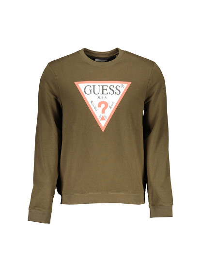 Sweatshirt Guess Jeans Homem Verde
