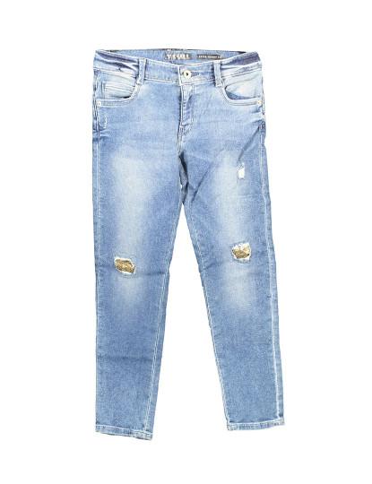 Calças de Ganga Guess Jeans Menina Azul Claro