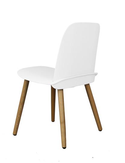 Pack 4 Cadeiras Wood Gum Branco