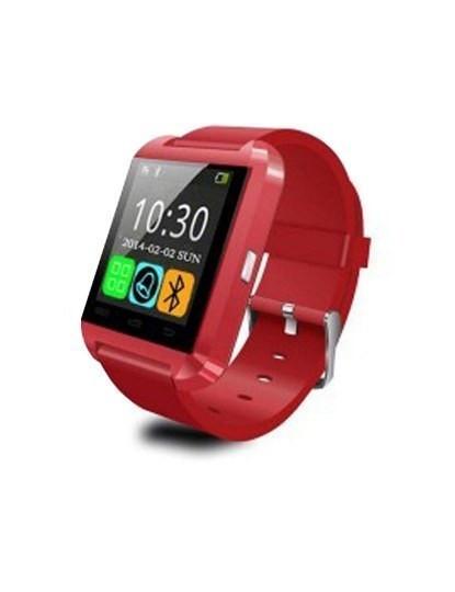 Smartwatch com Bluetooth Vermelho