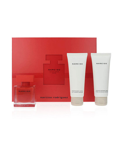 Coffret Narciso Rodriguez Narciso Rouge Pack 3 Pçs