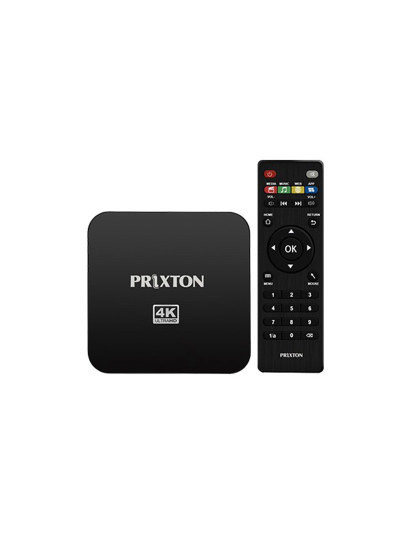 Box Smart TV 4K Android 7.1®