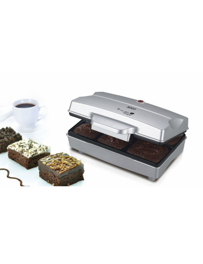 Brownie maker, 6 pits, 800W