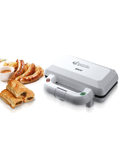 Puff Pastry & Sausage roll maker, 4 pits, 850W