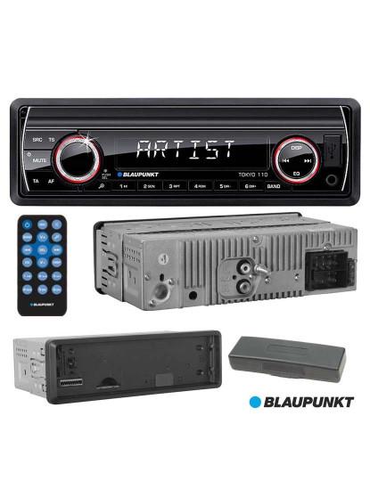 Auto-Rádio MP3 WMA Blaupunkt com Leitor USB/SD