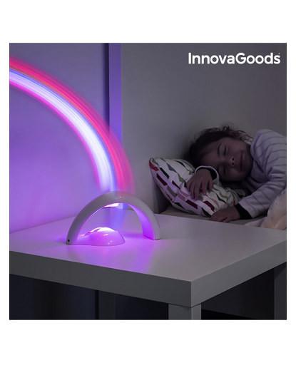 Projetor Led Infantil Arco-Íris Innovago