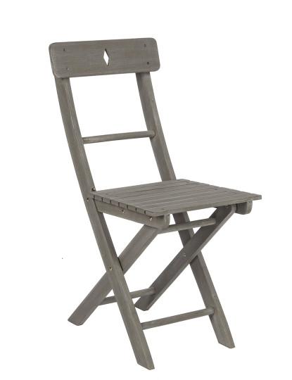 Cadeira de Varanda Cinza