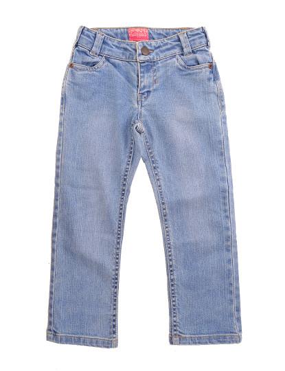 Calças Straight Fit Jeans Throttleman Rapariga Ganga Azul Clara