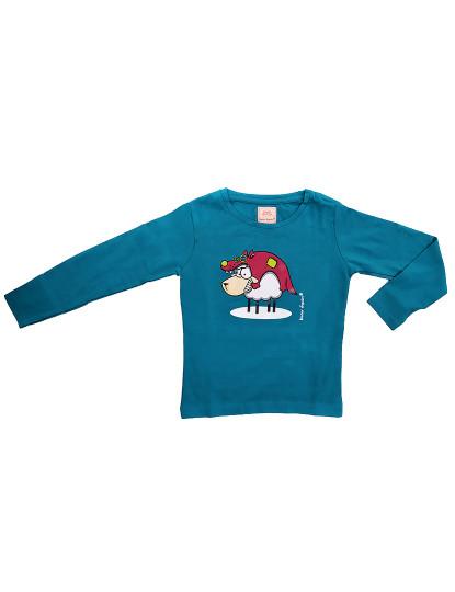Pijama Malha Funny Throttleman Rapariga Azul