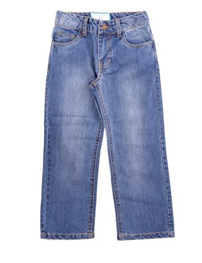 Calças 5 Bolsos Jeans Throttleman Rapaz Ganga Azul