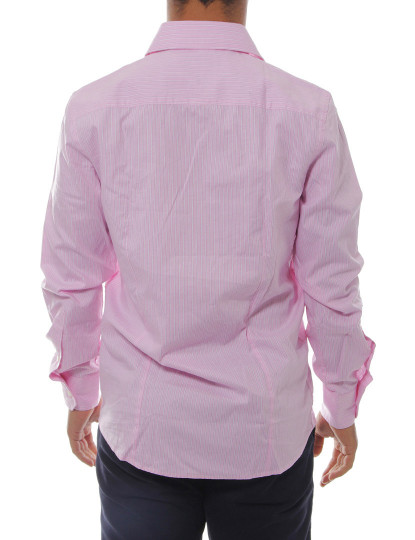 Camisa Manga Comprida Throttleman Homem Rosa