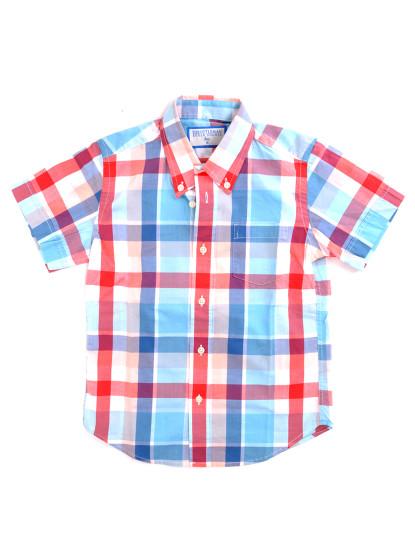 Camisa Manga Curta  Throttleman Rapaz Multicolorido