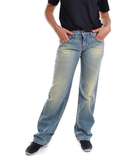 Calças Carpenter Fit Jeans Throttleman Azul Claro