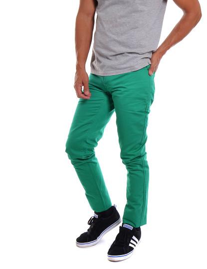 Calças Casual 5 Bolsos Throttleman Homem Verde