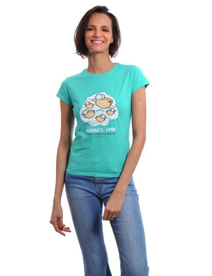 T-Shirt Regular Fit Mãe Throttleman Verde