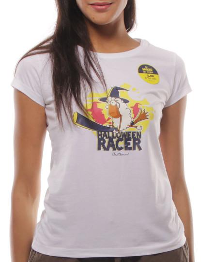 T-Shirt Regular Fit Halloween Throttleman Branco