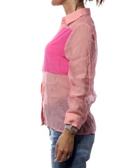 Camisa Manga Comprida Italian Throttleman Rosa