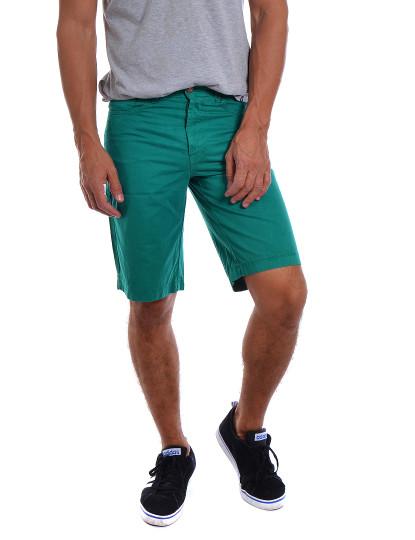 Calções Casual Throttleman Homem Verde