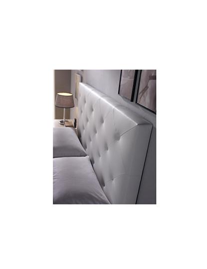 Cabeceira de cama Diamond Branca 150X60-TU
