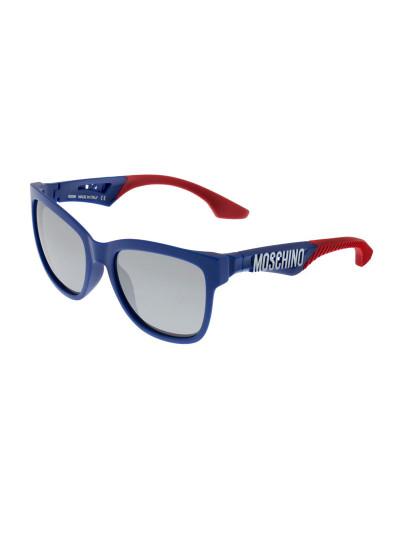 76208b2fcb3f1 Óculos de Sol Moschino MO816S02 Azul e Vermelho