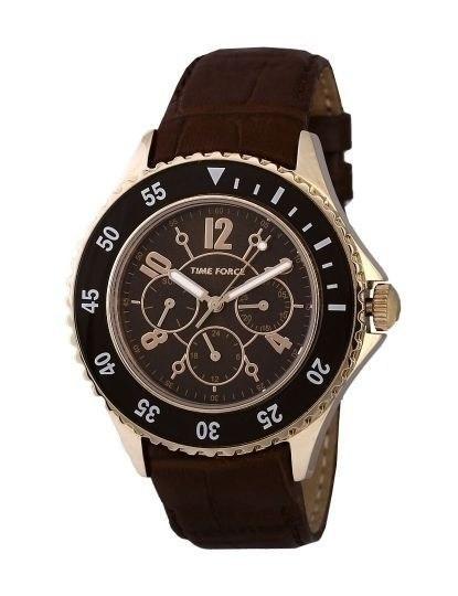 b37cddb9e95 Relógio Time Force Analógico Castanho