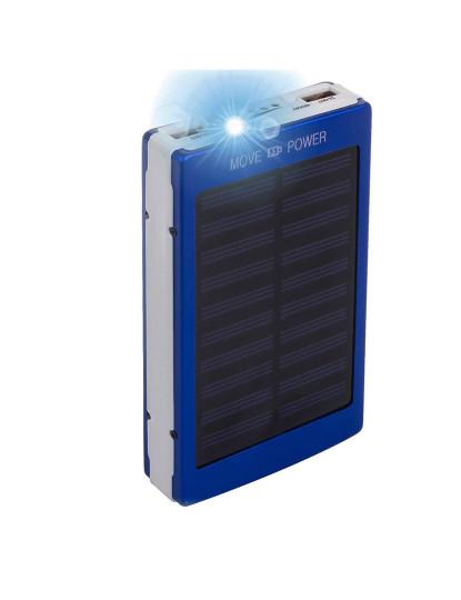 Powerbank Solar Duplo Usb 8,000Mah