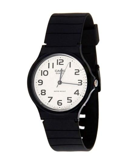 1d1470b8456 Relógio Casio Analógico Preto Branco