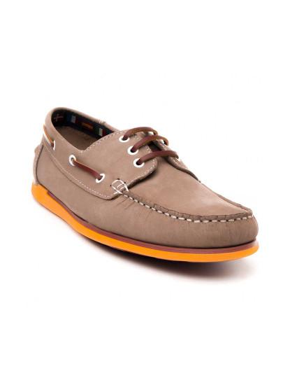 Sapatos Náutico Sachini Natural4 Homem Taupe