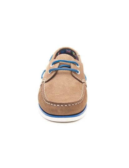 Sapatos Náutico Sachini Natural2 Homem Taupe