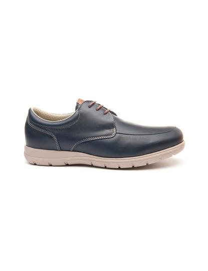 Sapatos Oxford Keelan Highcomf Homem Azul Marinho