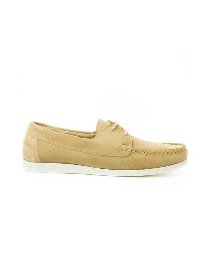 Sapatos Náutico Purapiel Quebramar Homem Bege