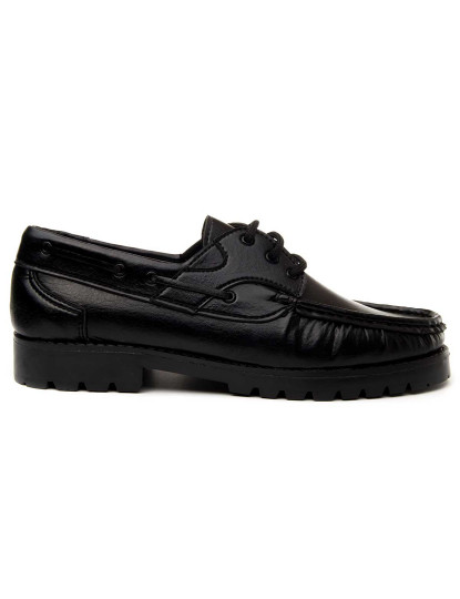 Sapatos Náutico Montevita Classicoc Homem Preto