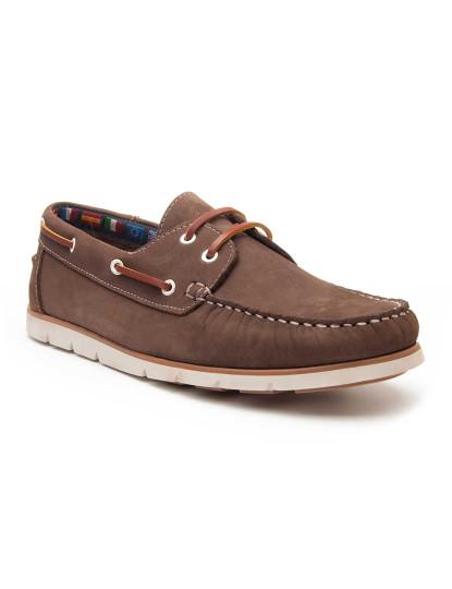 Sapatos Oxford Paloalto Keelan Homem Castanho