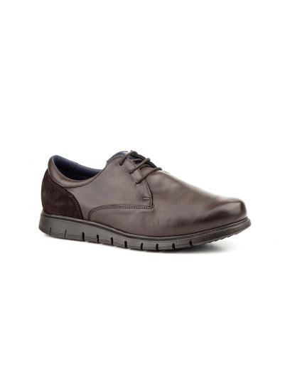 Sapatos Oxford Flexsc Keelan Homem Castanho