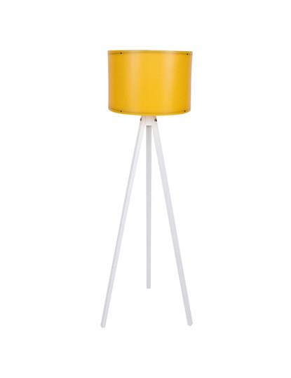 Candeeiro de pé Lumiq amarelo branco