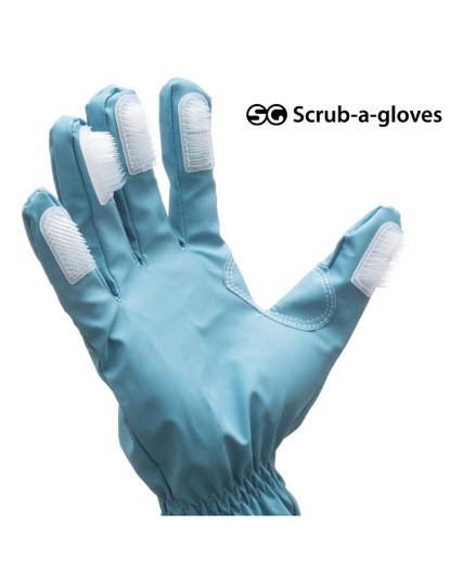 Luvas De Limpeza Com Escovas (Pack De 2 Unidades)