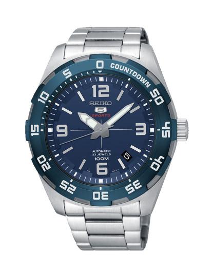 12742641670d6 Relógio Seiko Automático Prateado E Azul, até 2018-10-15