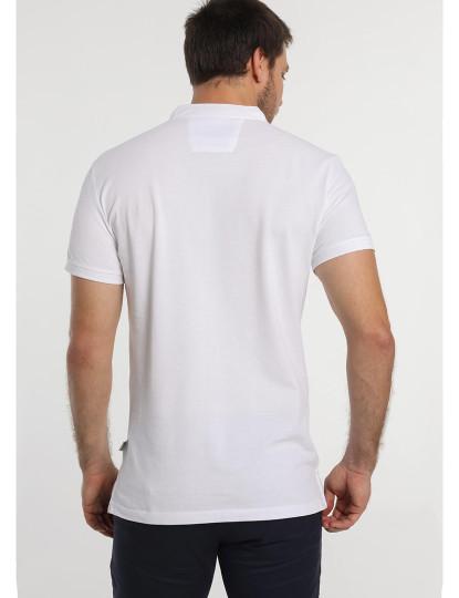 Pólo Pique Mao c/ Logo Bendorff Homem Branco