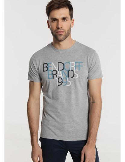 T-shirt 1995 Bendorff Homem Cinza