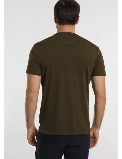 T-shirt Logo Bendorff Homem Verde