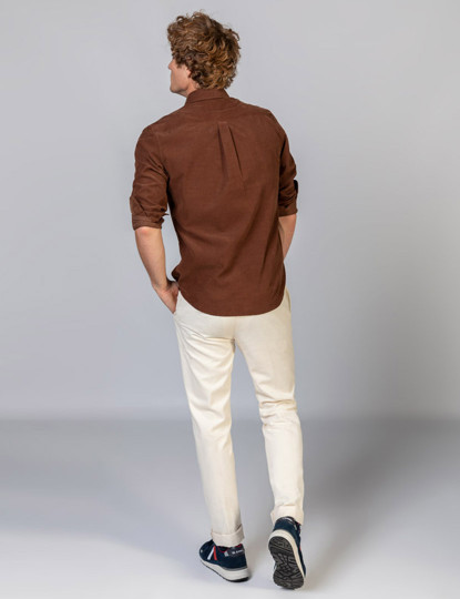 Camisa El Ganso Castanho
