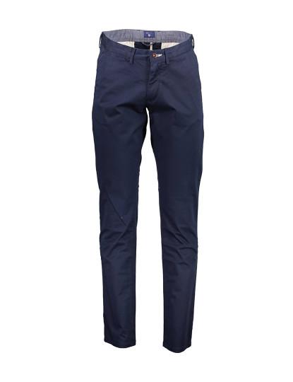 Calças Gant Homem Azul