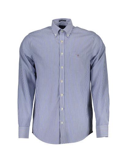 Camisa Manga comprida Gant Homem Azul