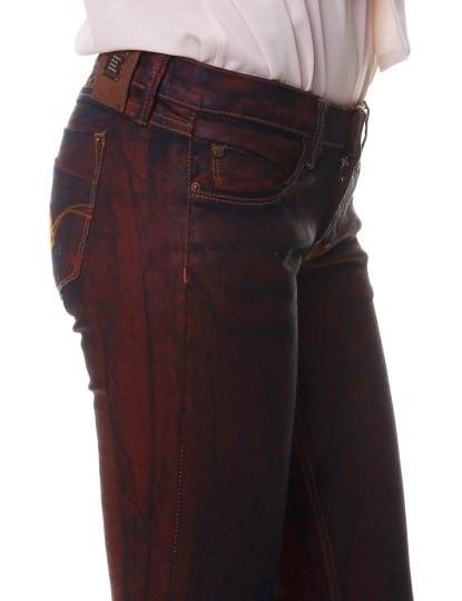 Calças Cheyenne Tie Dye Vermelho&Preto