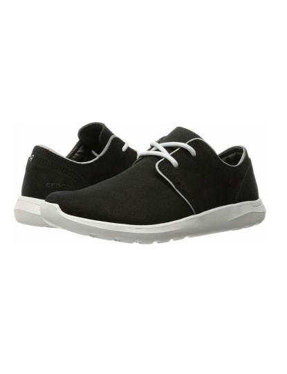 Crocs Kinsale 2 Eye Shoe M Preto e Branco Pérola