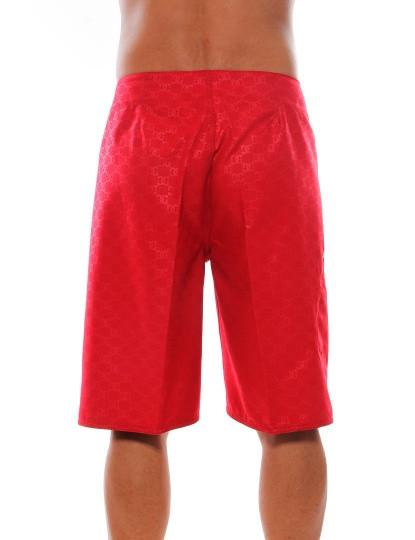 Calções de Banho DC Shoes Vermelho
