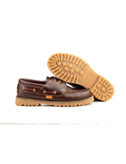Sapatos Oxford Claudio Keelan Homem Castanho