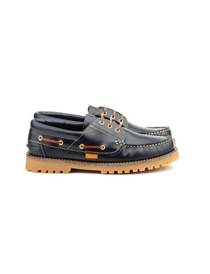 Sapatos Oxford Claudio Keelan Homem Azul